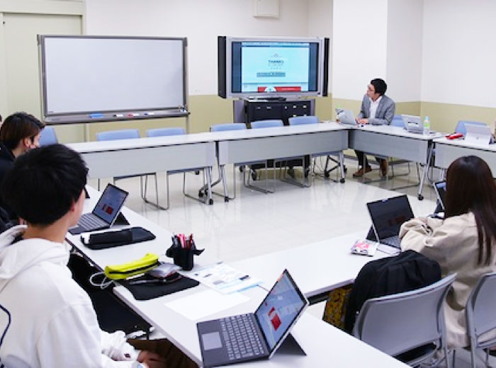 Operate joint seminar for the practice-based course with Tohoku Fukushi University